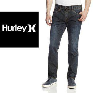Hurley Straight Leg Jeans - 33x28